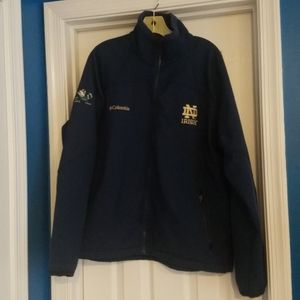 Columbia Notre Dame soft shell jacket